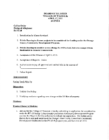 Village Board Agenda: April 17, 2017