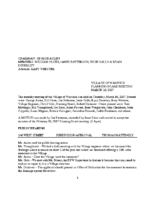 Planning Board Minutes: March 16, 2017