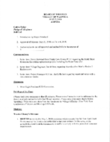 Village Board Agenda: July 2, 2018