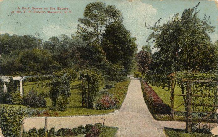 Park Scene on an Estate