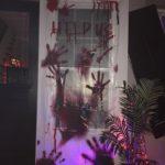 Halloween Decorated Door