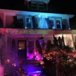Decorated Halloween House
