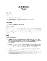 Village Board Agenda: May 6, 2019