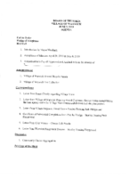 Village Board Agenda: June 3, 2019 (26 MB FILE)