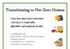 Net Zero Home Meeting