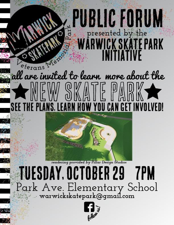 New Skatepark Meeting