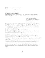Planning Board Unapproved Minutes: October 8, 2019