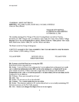 Planning Board Unapproved Minutes:  November 12, 2019